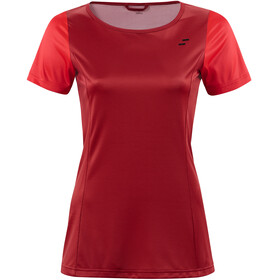 SQUARE Sport - Maillot manches courtes Femme - rouge